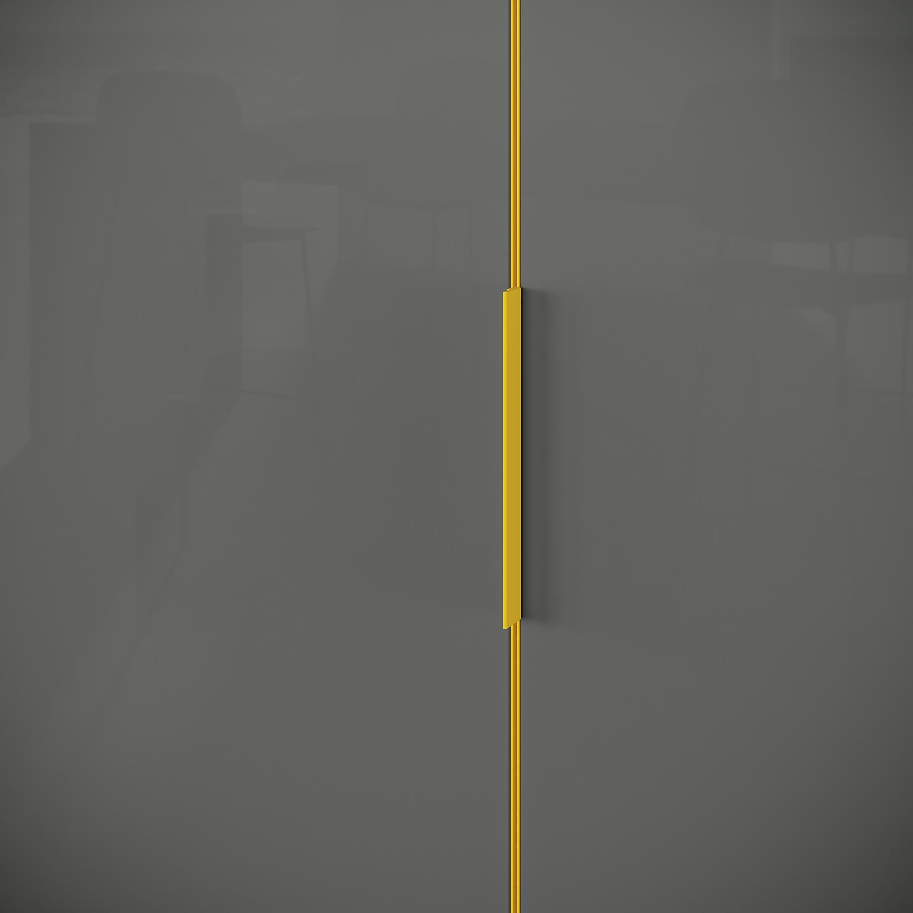 PANORAMIC Armario a Medida con Puertas Correderas UECKO 6 Puertas Detalle perfil puertas
