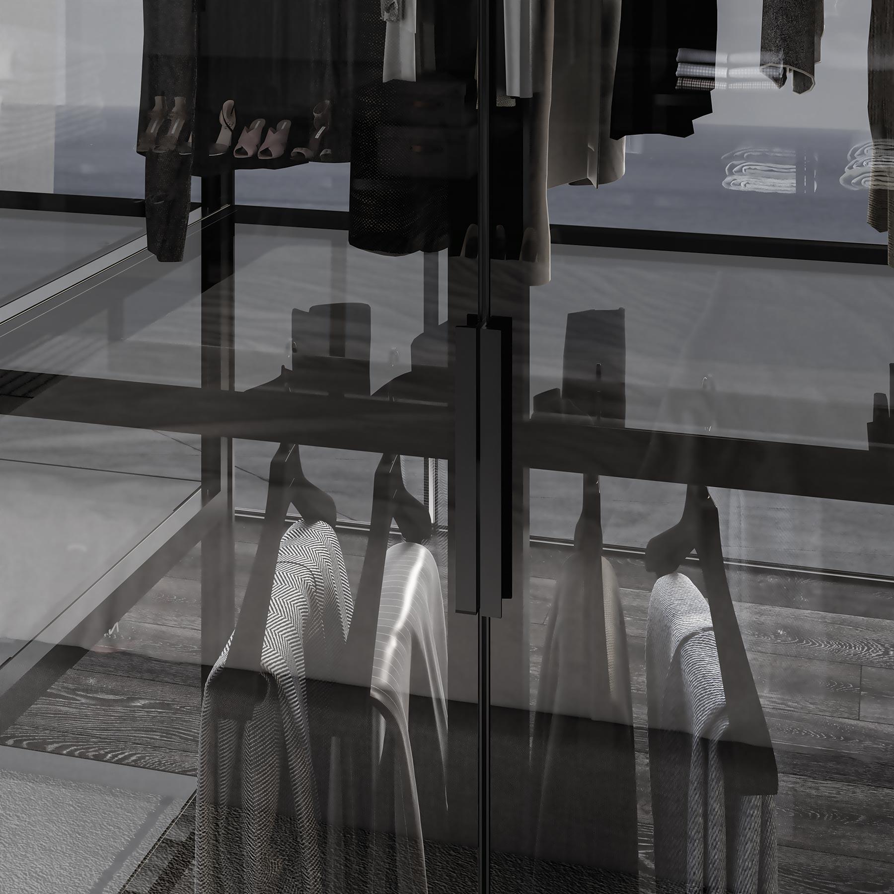 ALYA Armario A Medida Premium con Puertas Abatibles Detalle Tirador