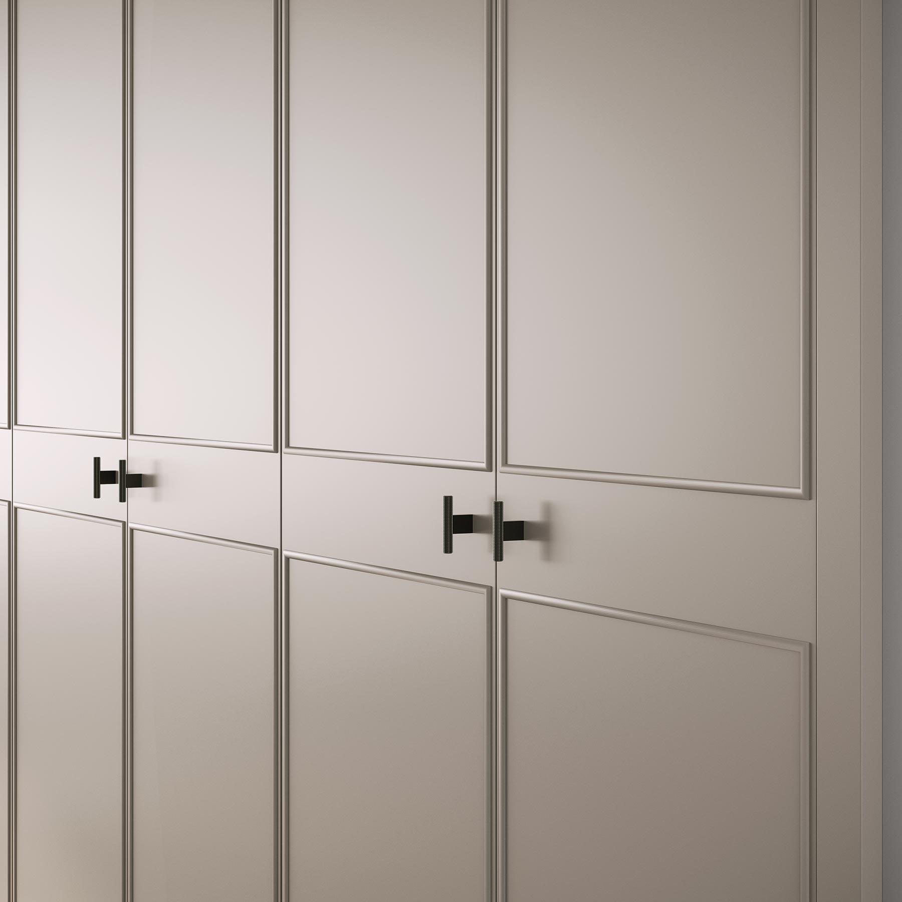 CLASSIC Ocho Puertas Armario A Medida con Puertas Abatibles Detalle puerta