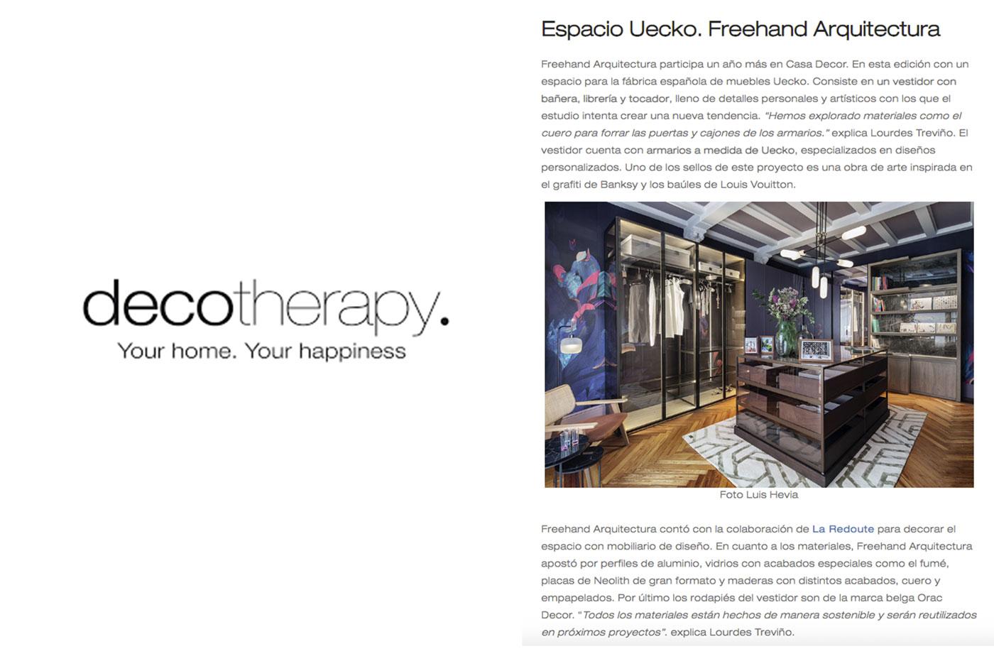 Prensa DECOTHERAPY 0821