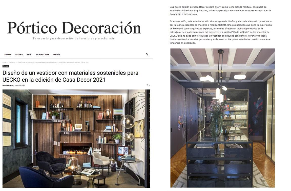 Prensa PORTICO DECORACION
