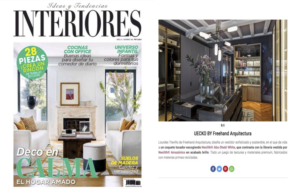 Prensa REVISTA INTERIORES 0821